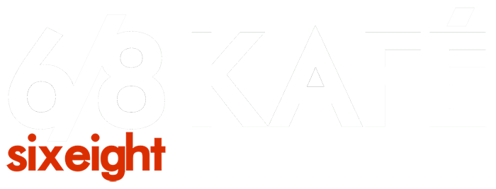 Image of the Six Eight Kafé Main Logo